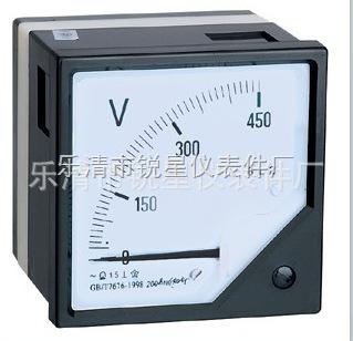 测量交直流电流电压表 指针式 仪表