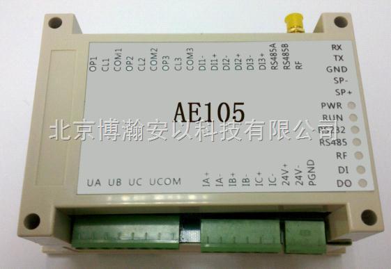 其主要特点为检测三相电机参数与远程启停控制.