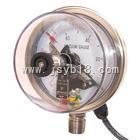 双下限耐震电接点压力表