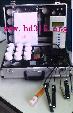 便攜式水質分析儀(溫度 鹽度 溶氧度 pH 氨氮 硫化氫 )