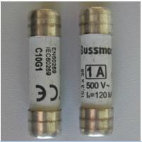 IEC gG/gL標準圓管型熔斷器C10G1,C10G2,C10G4(現貨)