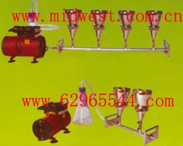 二聯不銹鋼全自動溶液過濾器(懸浮物抽濾裝置) m260113