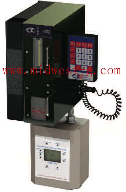 硫化氫分析儀(含預處理,樣氣,探針,220V電源) 型號:GAS1-802D2