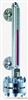 UHZ-517T32通用顶装型磁翻柱液位计,UHZ-517T32